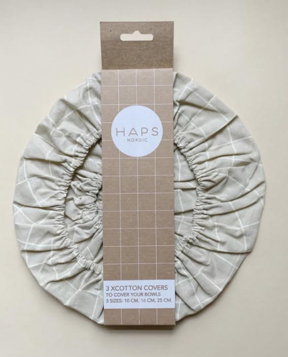 HAPS Tan Nordic Cotton Covers