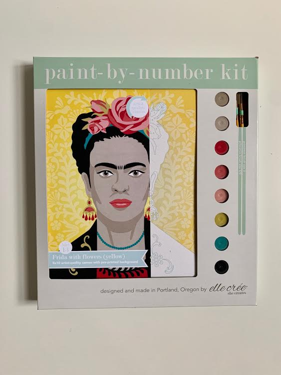Frida Kahlo Paint by Number Kit