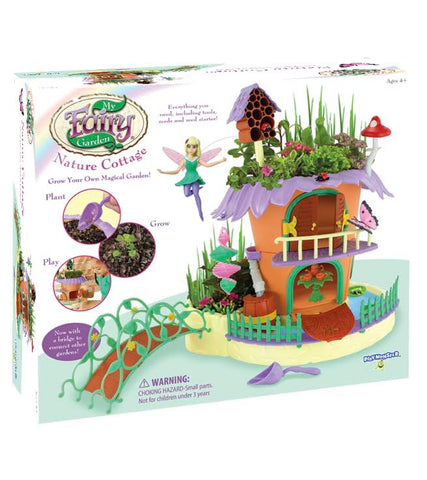 My Fairy Garden Nature Cottage: Grow & Play Set