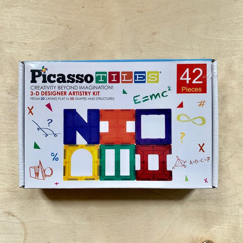 42 Piece Set Magnet Building Tiles