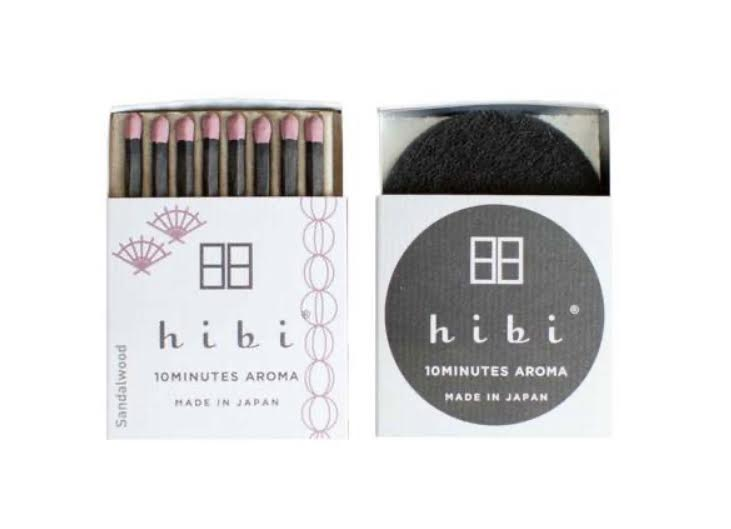 HIBI Incense Matches- Sandalwood