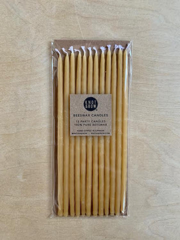Natural Beeswax Candles- 6