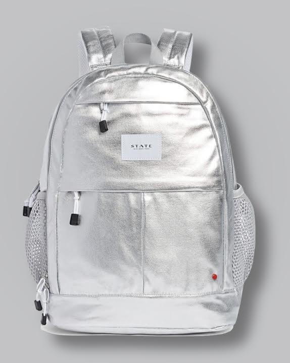 Kane Kids Silver Backpack