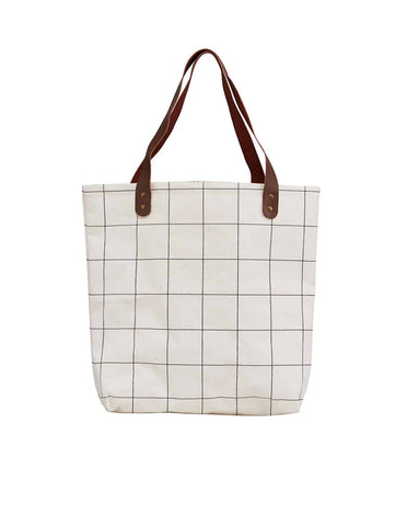 Squares Shopper Bag