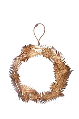 Gold Iron Wreath