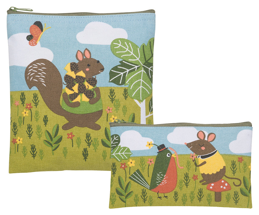 Critter Capers Reusable Snack Bags