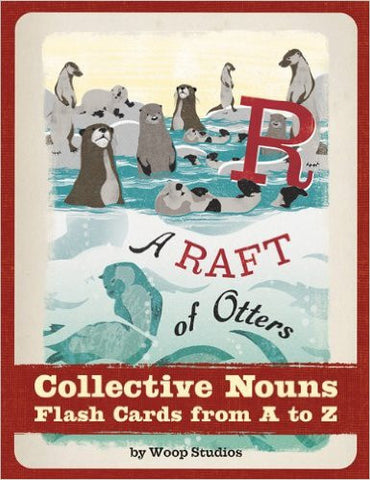 A Raft of Otters: Collective Nouns Flash Cards From A-Z