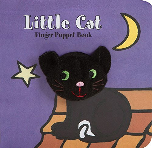 Little Cat Finger Puppet Book