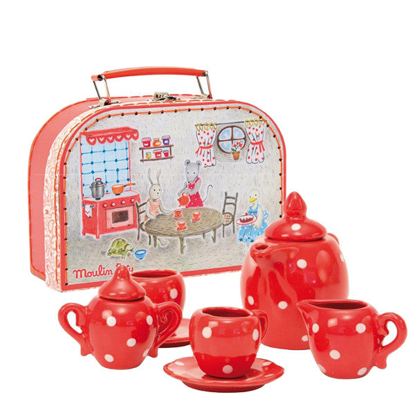 Moulin Roty Ceramic Tea Set