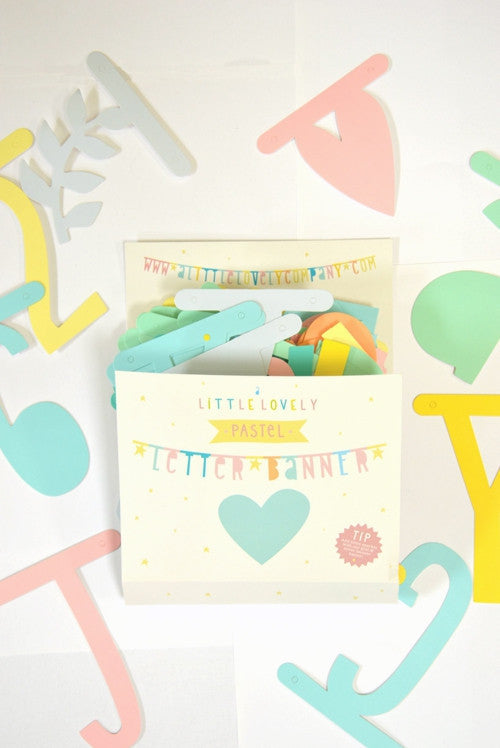 Little Lovely Banner- Pastel