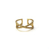 Brass Emblem Ring