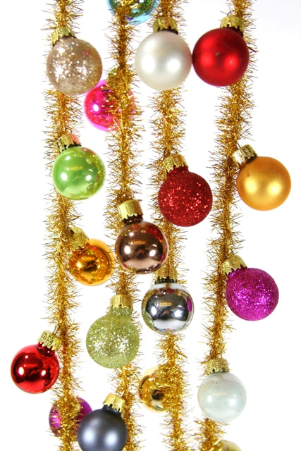 Merry & Bright Multi Garland- one bulb is broken 50% off!