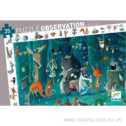 Djeco Observation Orchestra Puzzle