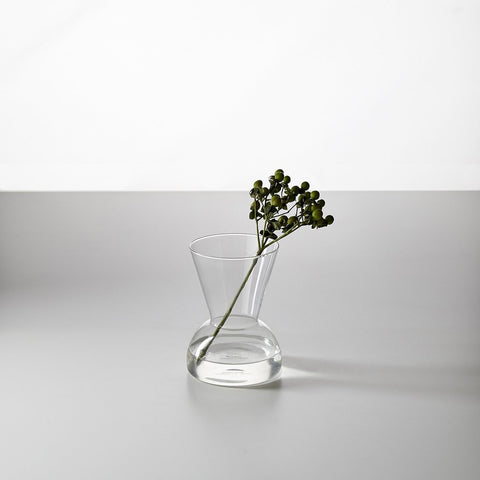 Gather Vase- Clear B