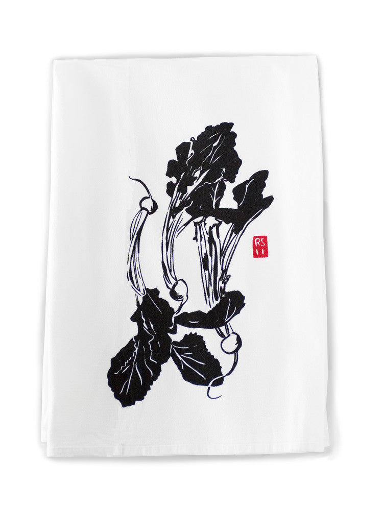 Japanese Turnip Dish Towel