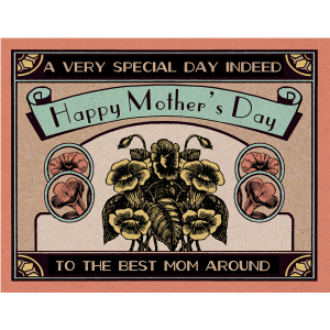 Mother's Day Matchbox Card