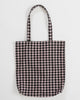Gingham Merch Tote