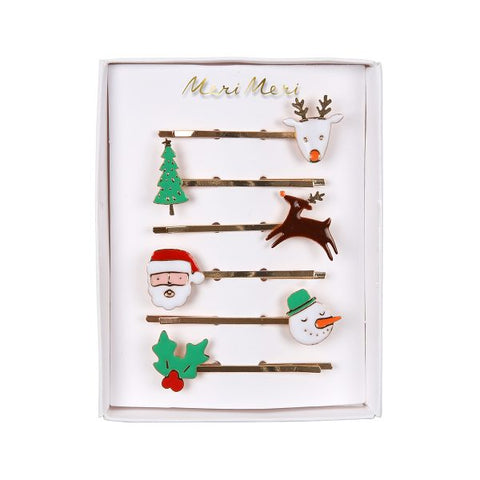 Christmas Hair Slides