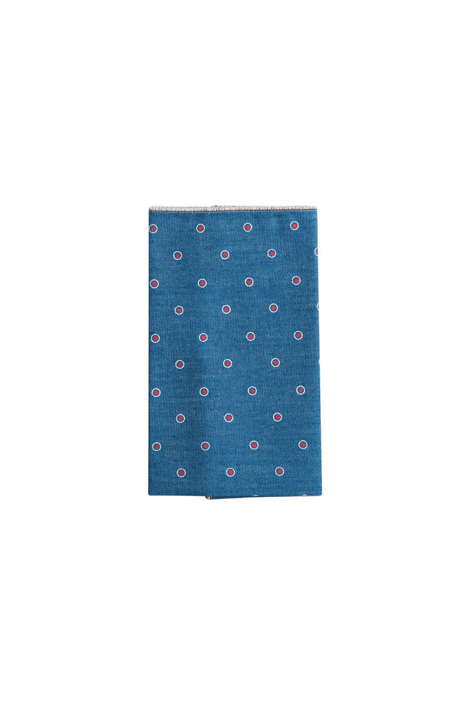 Manhattan Dot Pocket Square