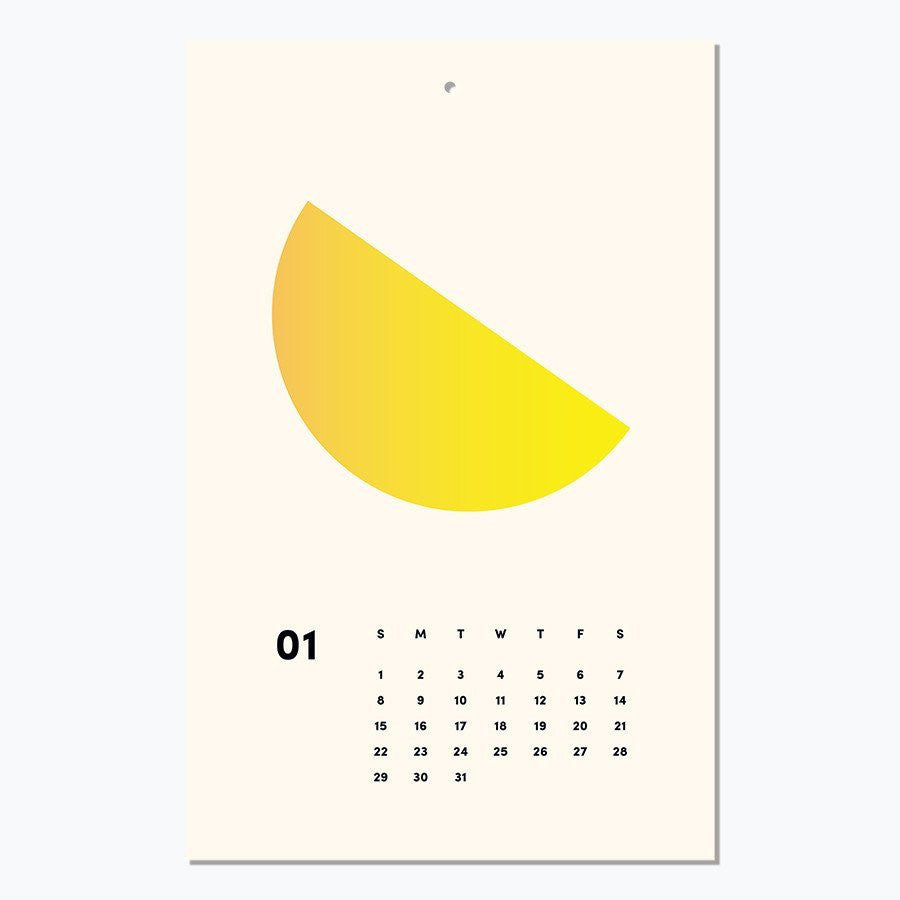 Art Everyday Mini 2017 Calendar