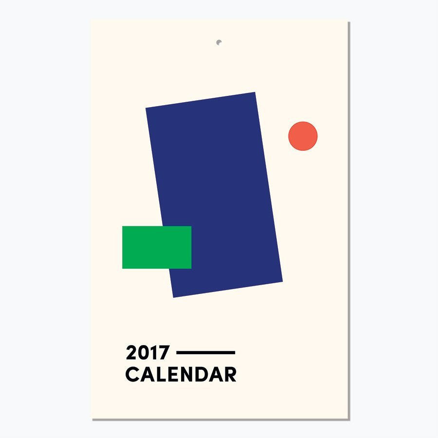 Art Everyday 2017 Calendar
