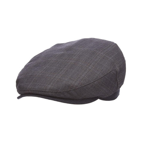 Grey Plaid Ivy Cap