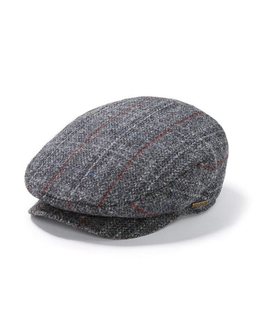 Harris Ivy Tweed Cap