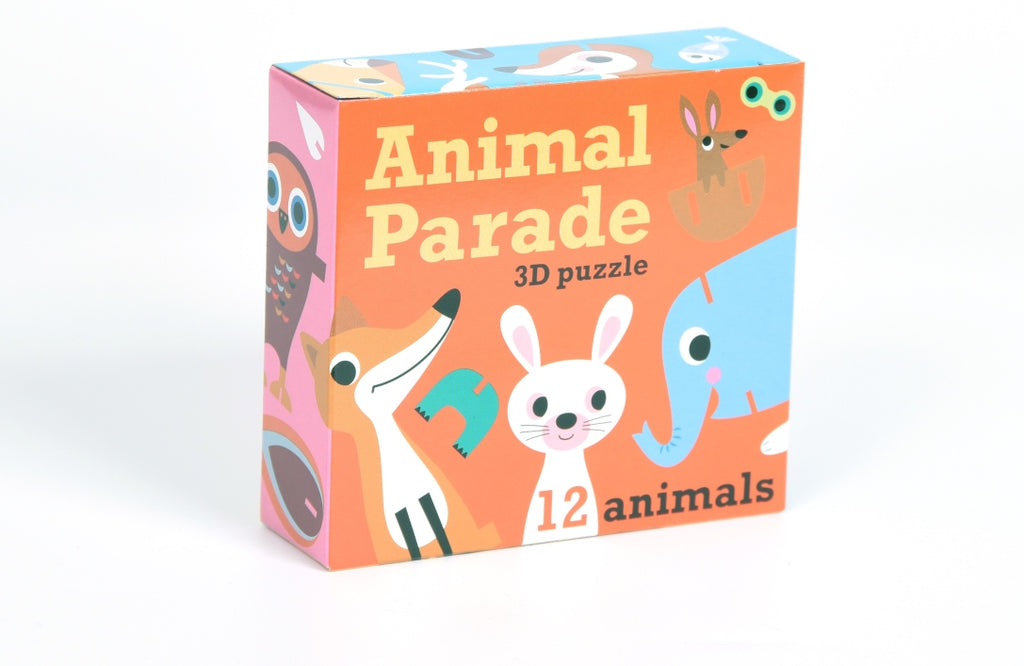 Animal Parade 3D Puzzle