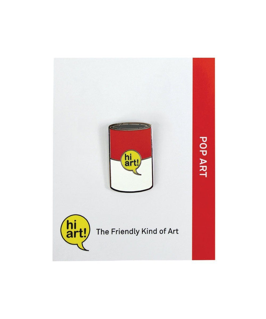 Hi! Art Pop Art Can Pin