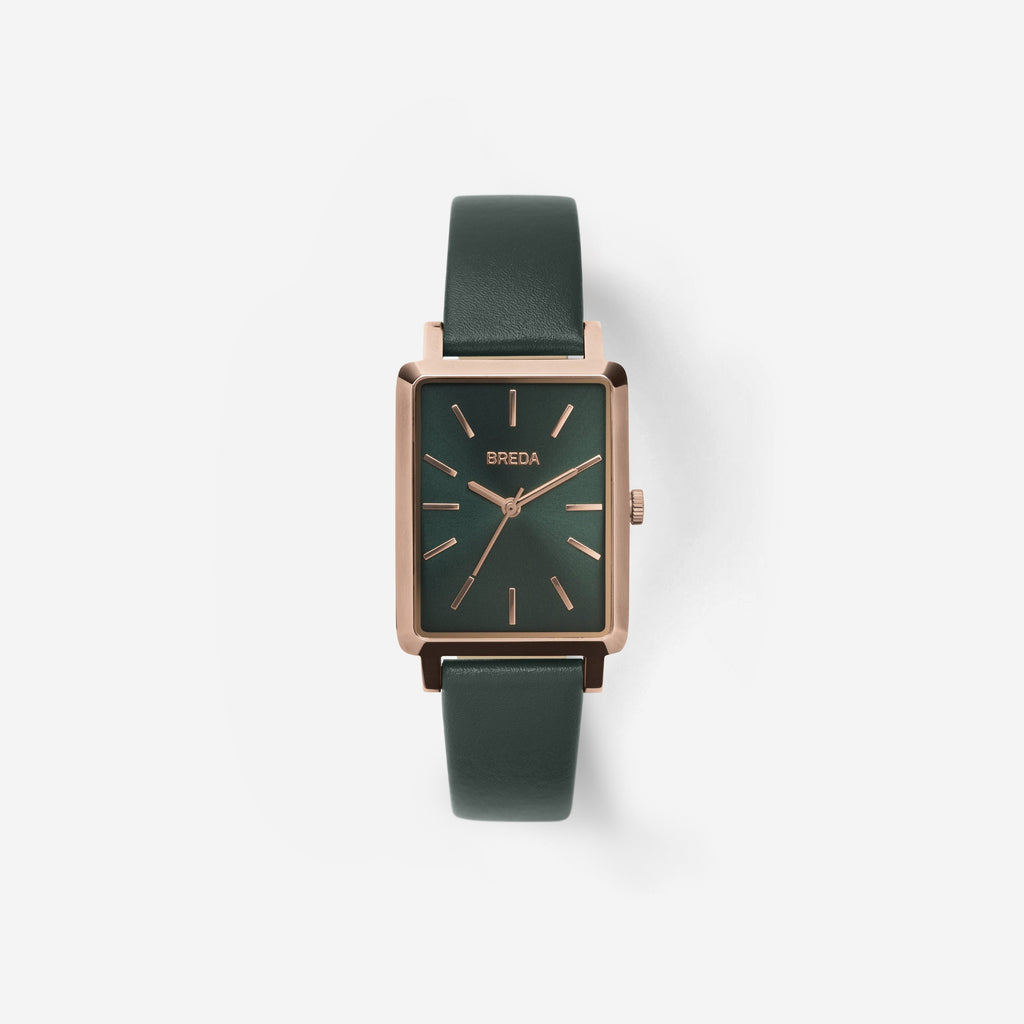Green and Gold Baer Watch