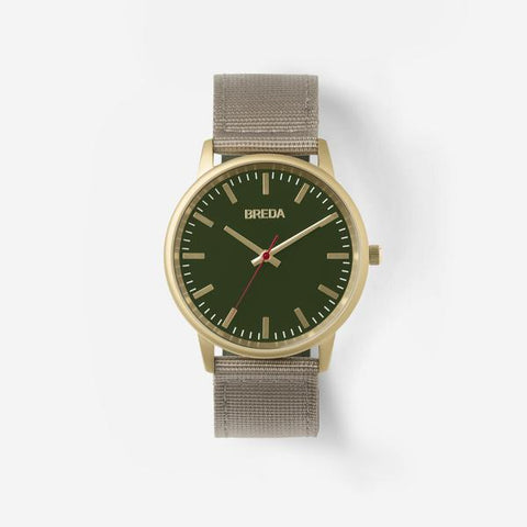 Valor Watch- Khaki & Green