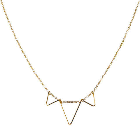 By Philippe Triple Deco Necklace