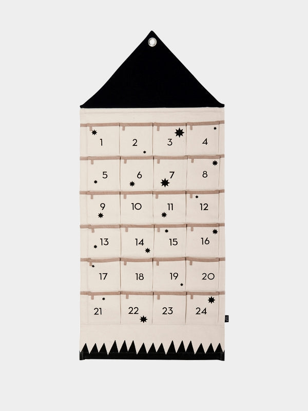 House Christmas Advent Calendar