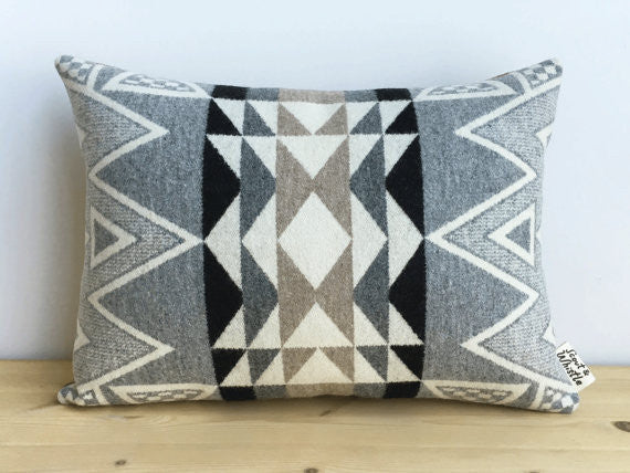 Stone Triangle Pillow