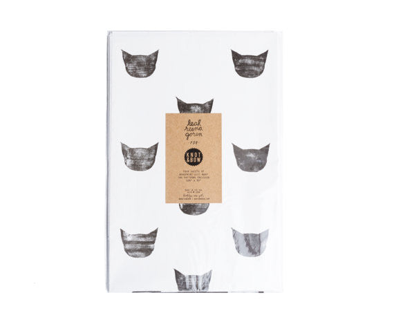 Cat Gift Wrap Sheets