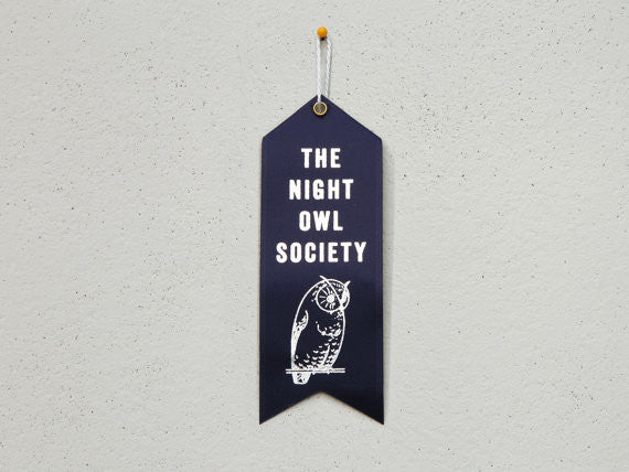 The Night Owl Society Ribbon