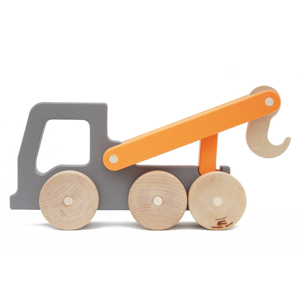 Tow Truck Push Toy