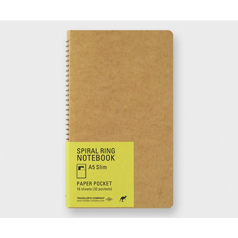 Traveler's Company Spiral Notebook- Medium