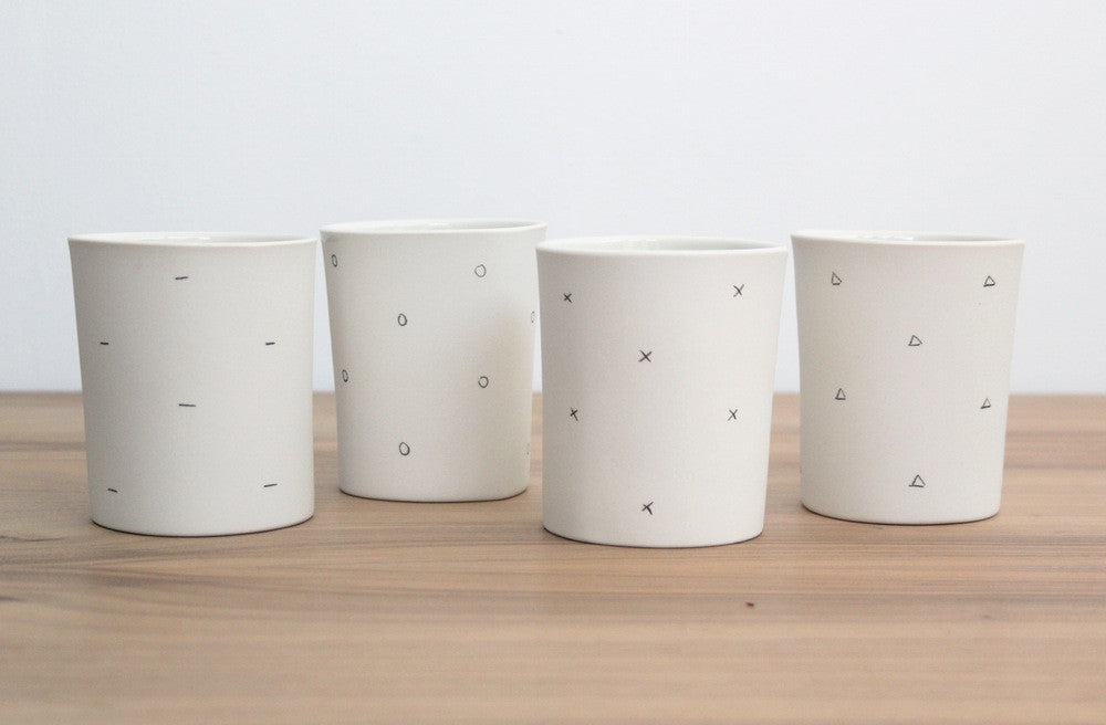 Triangle Pattern Cup