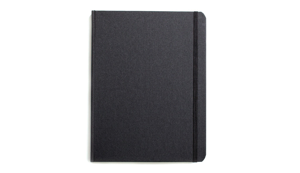 Shinola Large Hard Linen Notebook