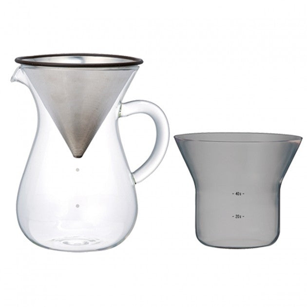Slow Coffee Style Carafe Set 4 cups