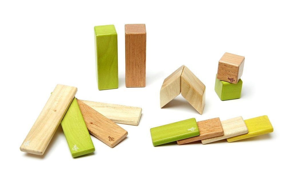 Jungle Magnetic Wooden Blocks