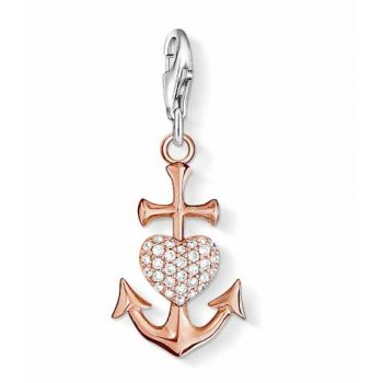 Thomas Sabo - Rose Gold Plated Anchor