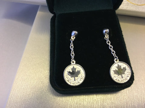Canada 150-Sterling Silver Stud Earrings
