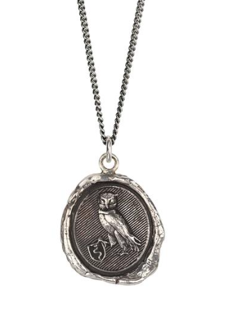 Pyrrha - The Owl Necklace