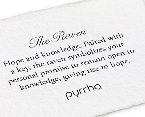 Pyrrha - The Raven Necklace