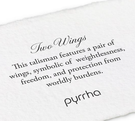 Pyrrha - Two Wings Necklace