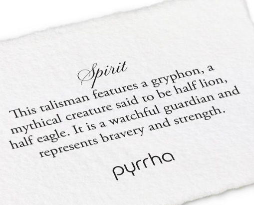 Pyrrha - Spirit Necklace