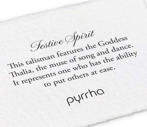 Pyrrha - Festive Spirit Necklace
