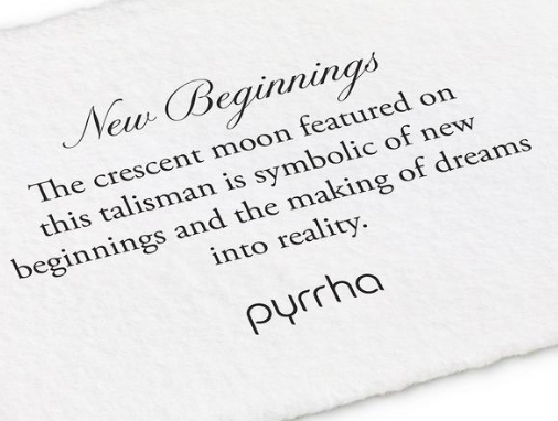 Pyrrha - New Beginnings Necklace